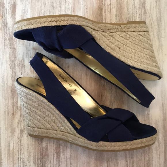 398be19ece Donald J. Pliner Shoes | Donald J Pliner Navy Espadrilles | Poshmark